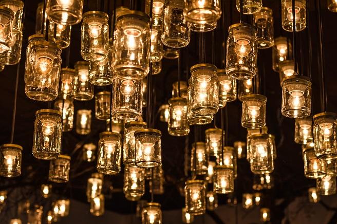 Beautiful hanging lights
