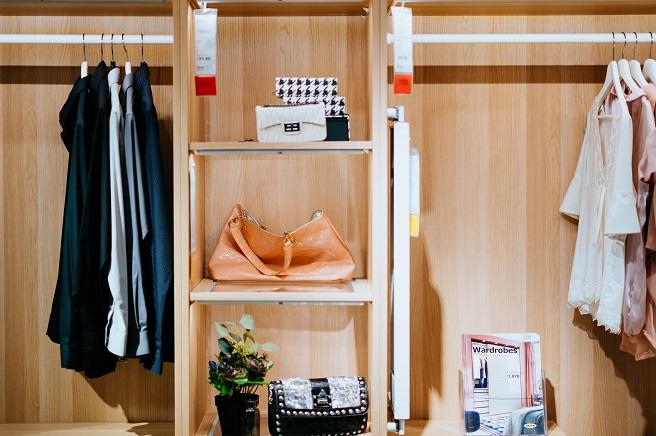 Closet organizer Ikea